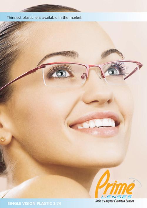 Hoya single vision plastic lens